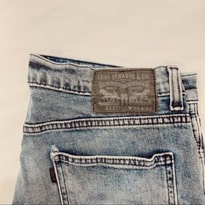 511 light wash Levi's